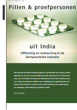offshoring in de farmaceutische industrie
